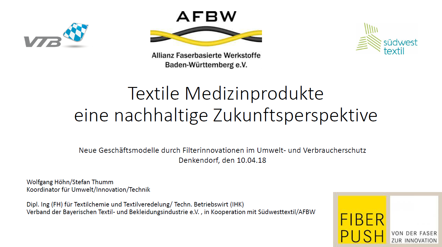 Fact Sheet Textile Medizinprodukte